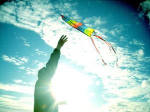 A volar