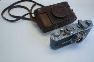 Cámara Leica del fotógrafo Cartier-Bresson