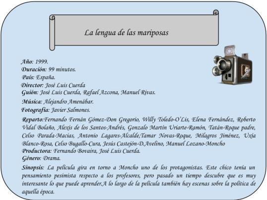 Ficha técnica creada por Achraf